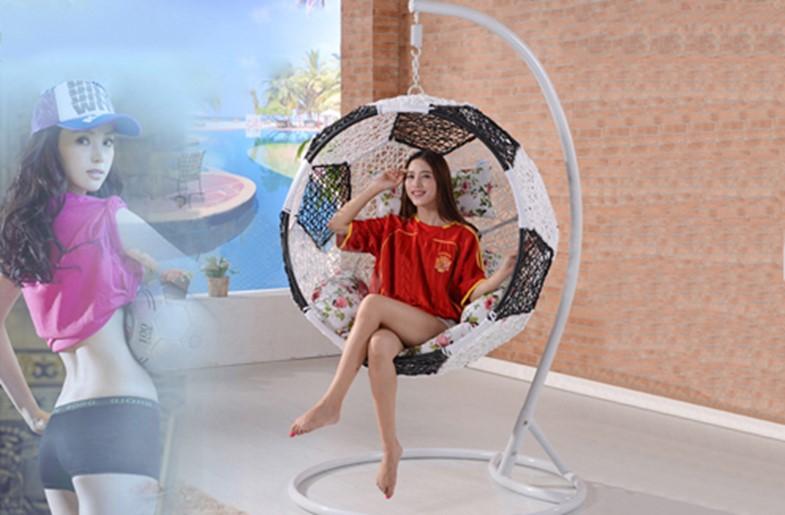 Xích đu trong nhà hình quả bóng đá (BCL103)