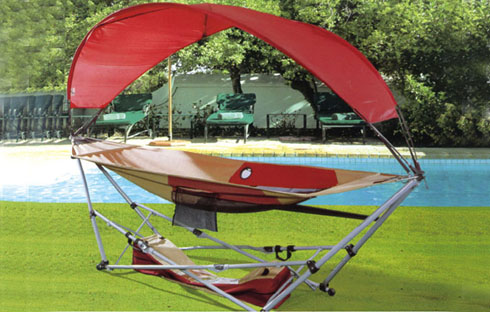 Giường bể bơi có mái che ZXFM028