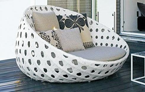 Bộ giường bãi biển thiết kế thanh lịch ZXFC028