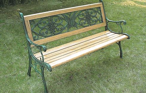 Ghế sân vườn có lưng tựa ZXFS035