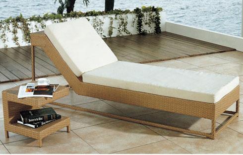 Giường bãi biển cao cấp kiểu dáng thanh lịch ZXFC086