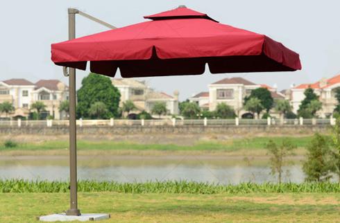 Ô dù sân vườn thiết kế 2 tầng độc đáo JLM140