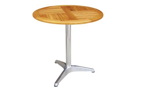 Ghế sân vườn mặt gỗ tròn giản dị ZXFU033