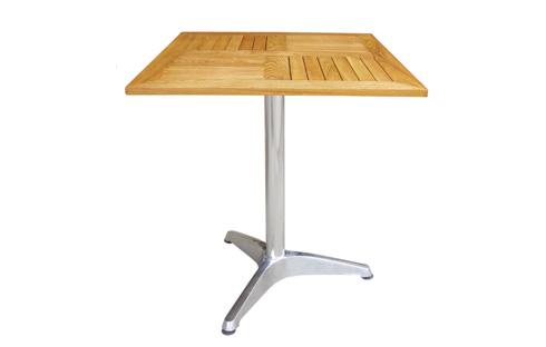 Thiết kế nổi bật ghế sân vườn mặt gỗ vuông ZXFU035