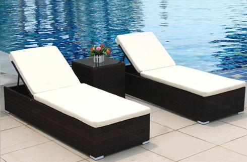 Giường nằm bể bơi thư giãn JLM115