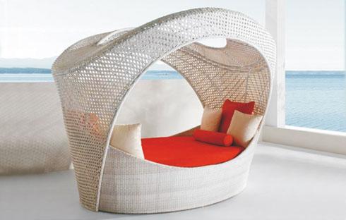 Giường bãi biển thiết kế độc đáo ZXFC012