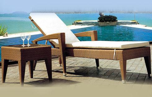 Giường bãi biển thiết kế thanh lịch ZXFC063