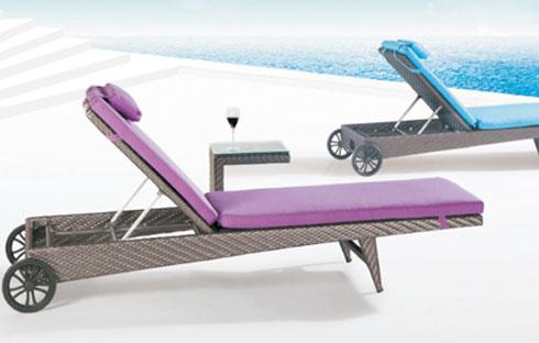 Giường nằm bể bơi thiết kế hiện đại ZXFC065