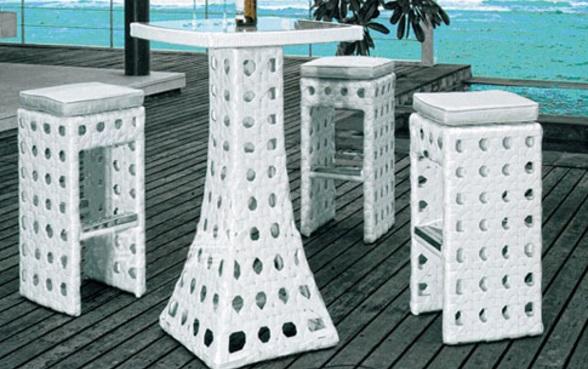 Lý do bàn ghế nhựa sân vườn giả mây luôn hút khách