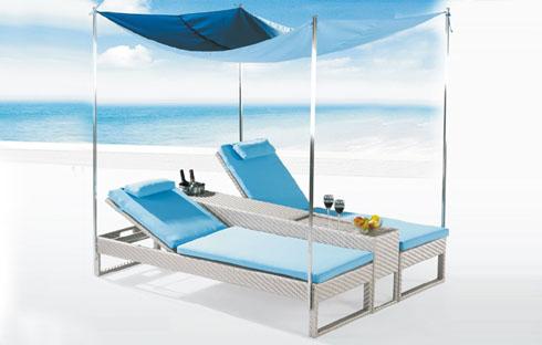 Hé lộ 3 mẫu giường nằm bãi biển làm tan chảy mọi trái tim