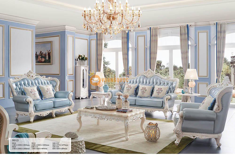 Chuyên gia phong thủy mách người mệnh Thủy chọn sofa phòng khách phù hợp