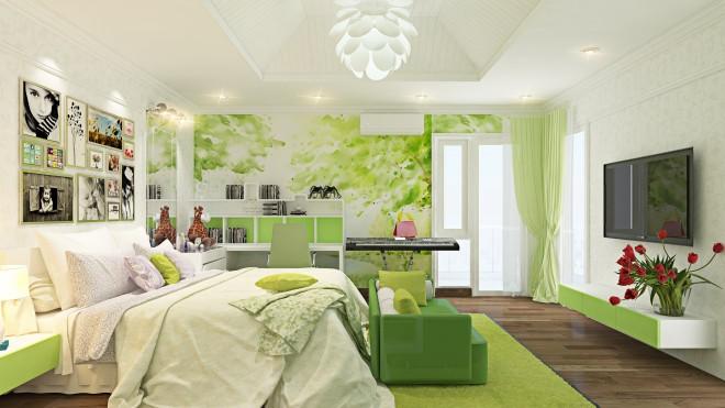 Những cách phối màu sống động cho không gian nội thất hiện đại