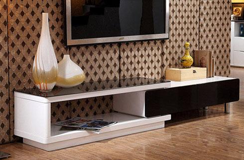 Gợi ý giúp bạn chọn kệ tivi đẹp cho phòng khách chung cư