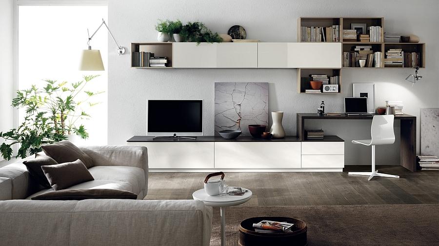 Cách chọn kệ tivi phòng khách cho chung cư diện tích hẹp