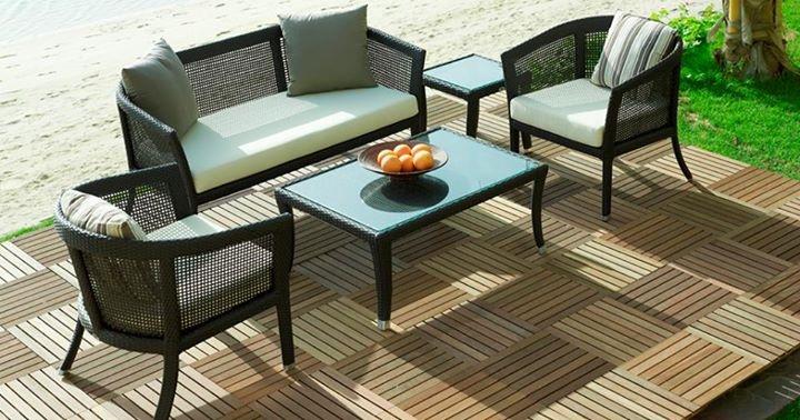 Ý tưởng thiết kế bàn ghế ngoài trời cho không gian ngoại thất ấn tượng