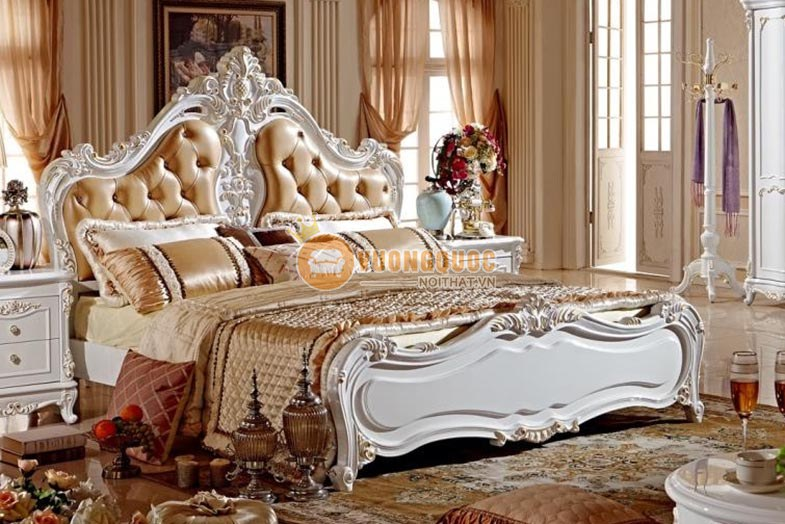 Sang trọng - đẳng cấp với bộ giường ngủ tân cổ điển mỹ quan thời thượng