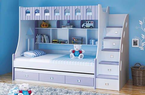 Tại sao nên sử dụng giường tầng trẻ em kết hợp với bàn học?