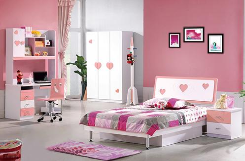 Cùng chiêm ngưỡng một số thiết kế phòng ngủ cho bé gái màu hồng đáng yêu