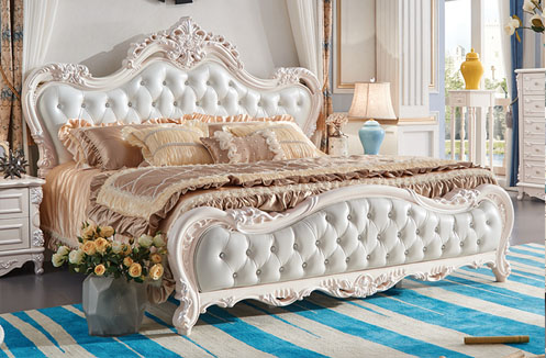 Điểm danh những bộ giường ngủ màu trắng sang trọng, hiện đại