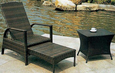 Ghế hồ bơi giả mây -  lựa chọn hoàn hảo cho khu bể bơi của gia đình