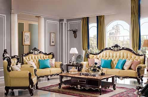 Sofa cổ điển - món quà tuyệt vời cho những căn biệt thự cao cấp