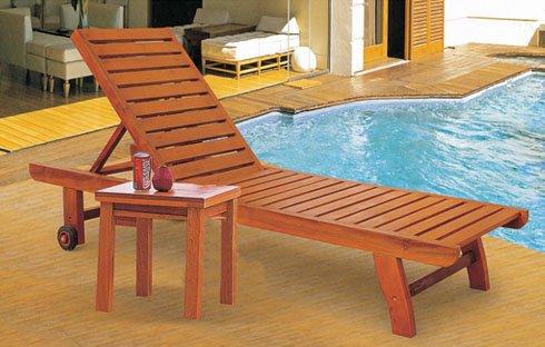 Khám phá những điều thú vị về mẫu ghế bể bơi bằng gỗ