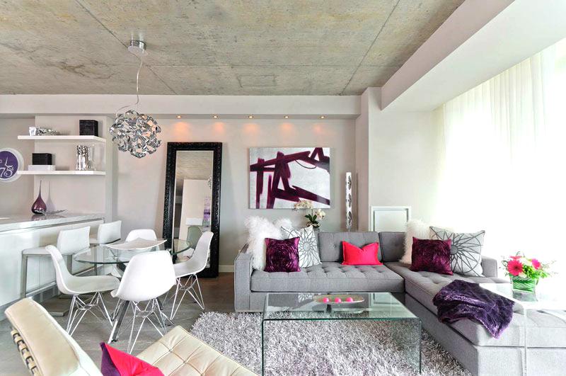 Một số ý tưởng trang trí không gian nội thất phòng khách nhỏ
