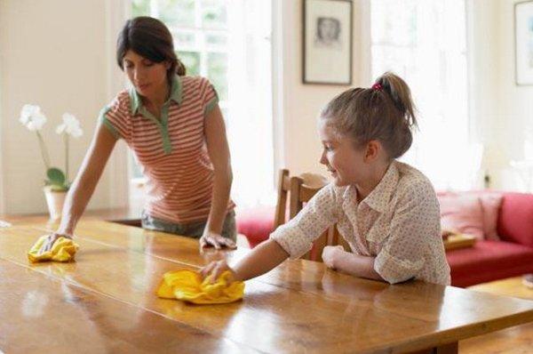 Mách bạn cách bảo quản bàn ghế ăn bằng gỗ hiện đại