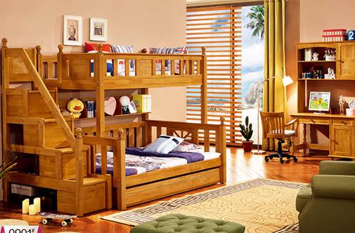 Nên mua giường 2 tầng bằng gỗ loại nào thì tốt?