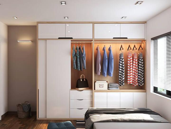 Mách bạn cách chống ẩm mốc tủ quần áo an toàn 100%