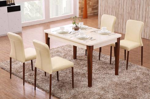 Bàn ăn gỗ hiện đại - Nội thất hoàn hảo cho phòng ăn