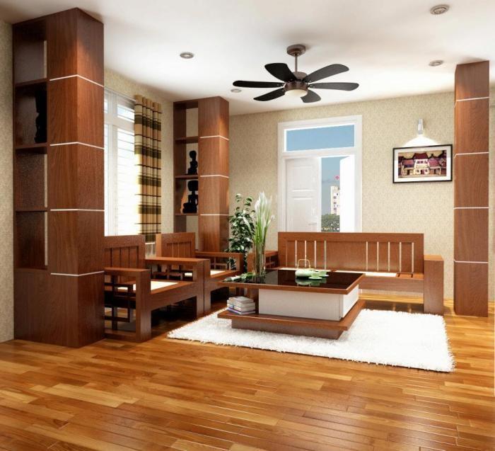 Nội thất gỗ hiện đại - Điểm cộng trong không gian sống