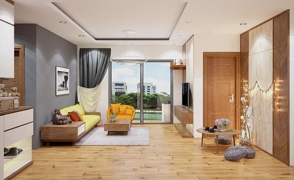 Các cách bố trí bàn ghế gỗ trong phòng khách siêu chuẩn