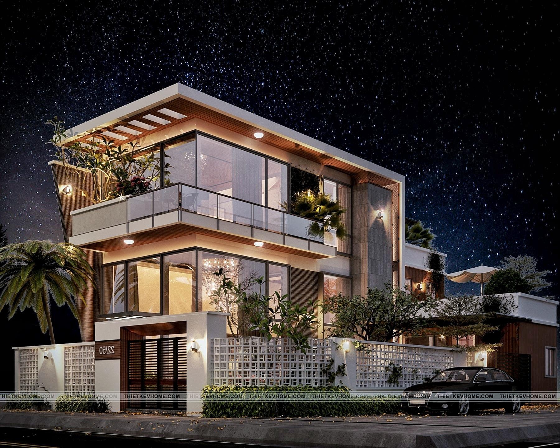 Những nguyên tắc khi thiết kế ngoại thất nhà đẹp mắt, ấn tượng